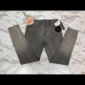 Women's Article of Society Gray Ombré Skinny Jeans